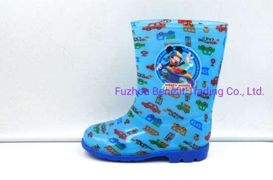 China OEM Cartoon Printing Children PVC Waterproof for Kids pictures & photos