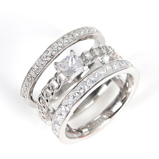 925 Sterling Silver Diamond Jewellery Simple Ring China Rings And Diamond Rings Price Made In China Com