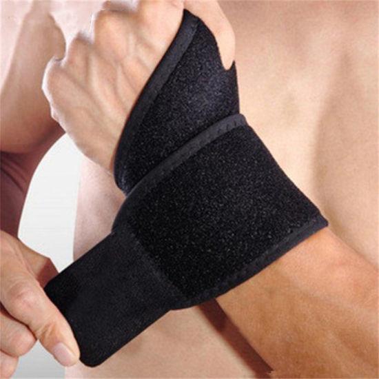 Good Quality Durable Elastic Sports Fitness Wrist Brace for Men