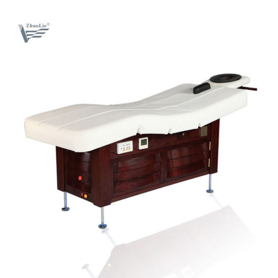 VIP Multifunction 3 Motor Thermal Electric Facial Massage Table Beauty Bed pictures & photos