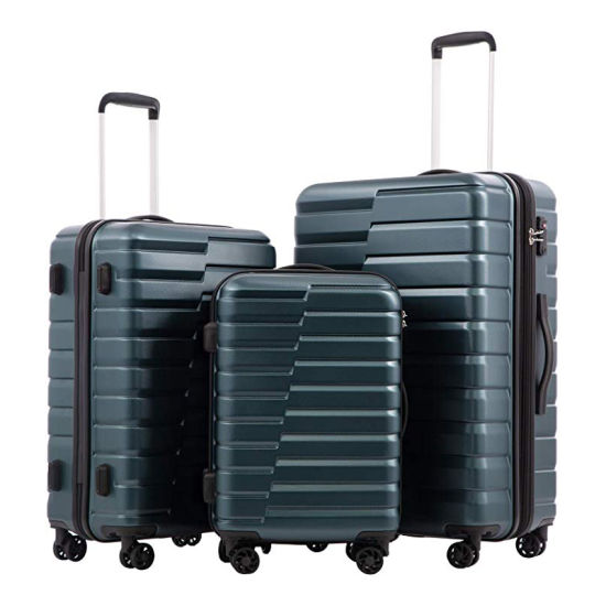 New Fashion Design Expandable Suitcase ABS+PC Carry-on Travel Trolley Luggage