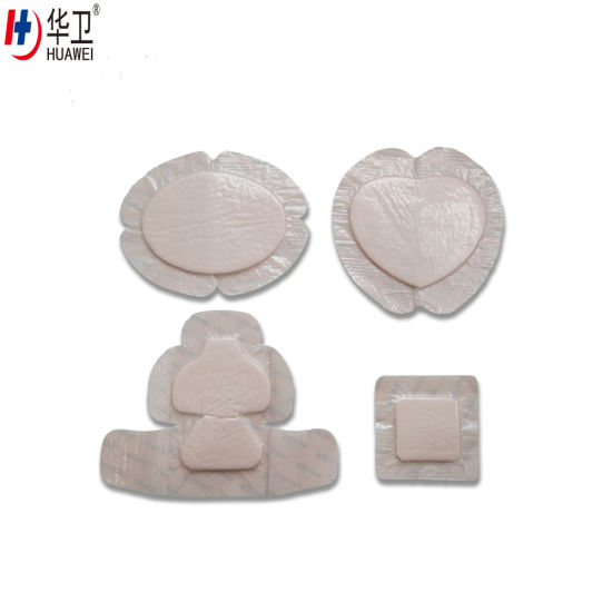 Highly Absorbent Acute and Chronic Wound Care Silicone Foam Dressing