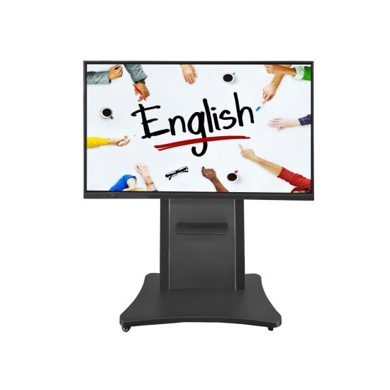 55 65 75 86 98 100 Inch LCD Touch Screen All in One Android Windows Dual OS Multi Screen Smart Class Interactive Whiteboard for E Learning