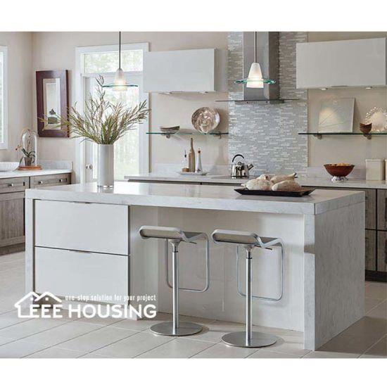 China Laminate Wood Handleless Design White High Gloss Wall Top Hinge Kitchen Cabinet With Tray Divider China Wall Top Hinge Kitchen Cabinet With Tray Divider Island Kitchen Cabinetry