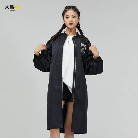 Chinese Famous Brand Dakun Women's Clothes Outdoor Lady Long Wind Coat