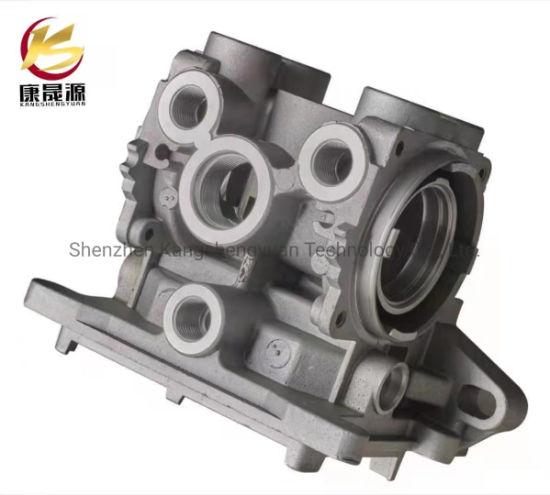 OEM CNC Machining Precision Aluminum Gravity Casting Heavy Machinery Metal Parts/ Die Casting Aluminum Engine Block