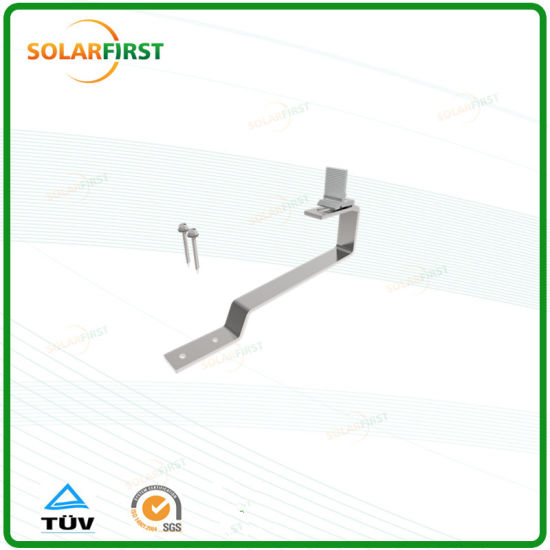 Easy Installation Aluminum Alloy Solar PV Accessories for Tile Hook Kites pictures & photos