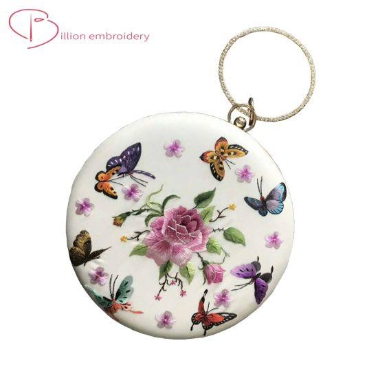 Chinese Silk Handmade Embroidery Lady Bag Chirstmas Gift Handbag Ethnic Stylel Flower Stitching