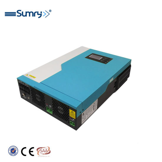 New Hybrid Inverter Pure Sine Wave Solar Inverter 48VDC 5500W with 100A MPPT Solar Charger PV Array Power 6000W