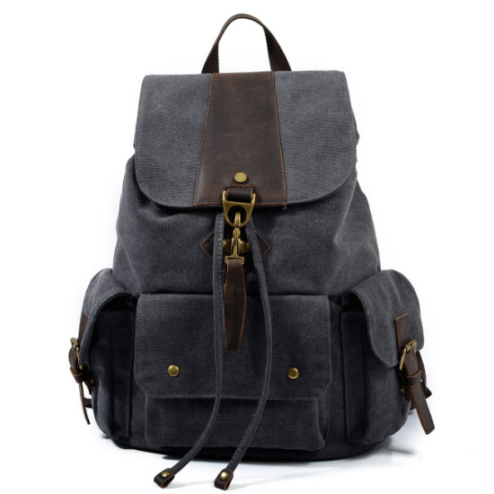 753848fd25 Washed Canvas School Day Pack College Backpack (RS-9154) pictures   photos