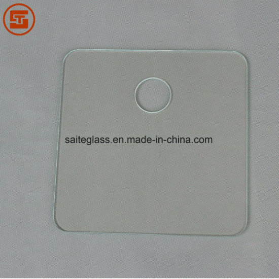 Customized ITO Bathroom Body Fat Electronic Weighing Scale Top Cover Tempered Transparent Glass