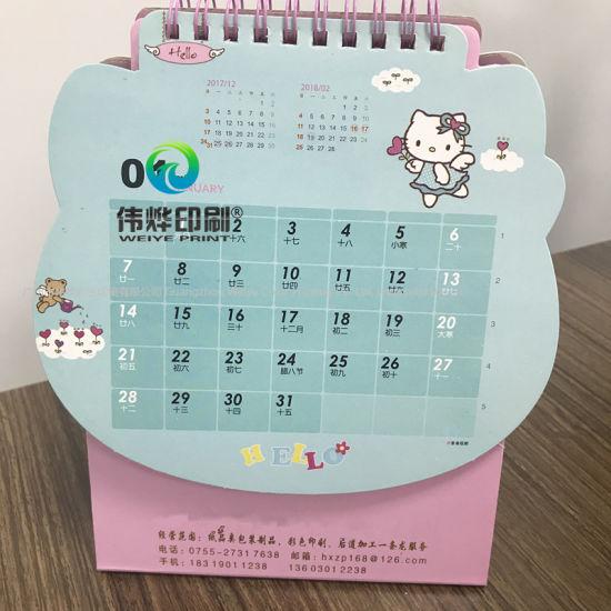 2019 Customize Printing Professional Office Mini Desk Calendar
