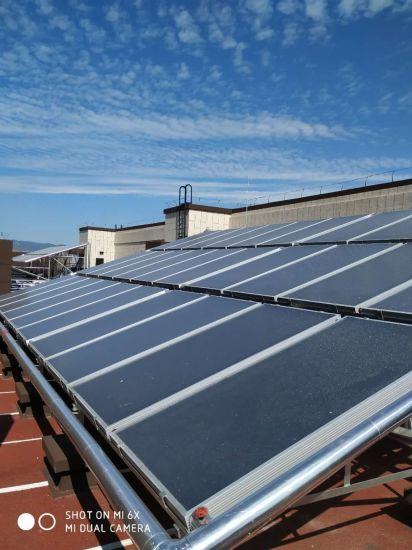 3m2 Flat Plate Solar Collector, 95mm Thickness, for Cold Areas