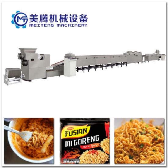 Fried Instant Noodle Machine, Automatic Instant Noodle Making Machine