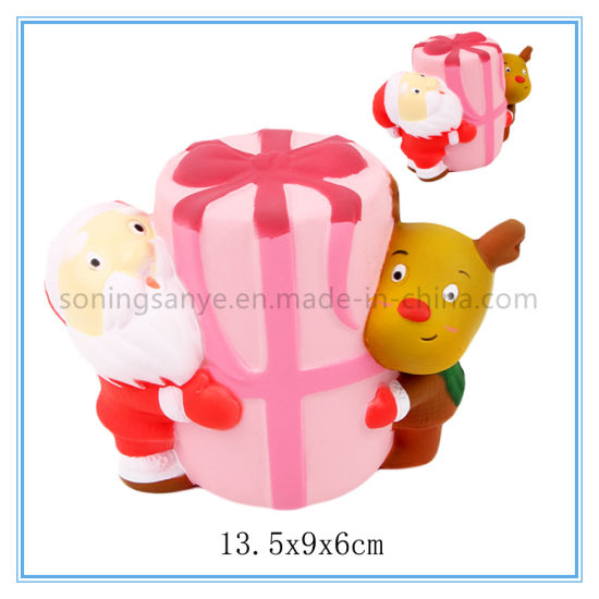 DTY0100 Christmas Squishy Toy Squeeze Stress Ball Relief Slow Rising Toy
