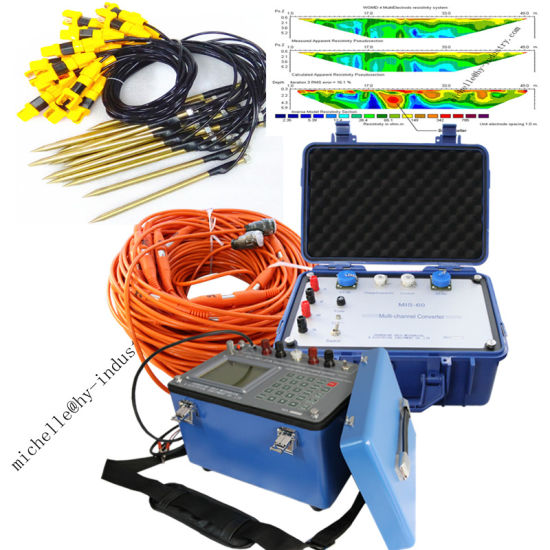 Dzd-6A Multi-Function DC Geophysical Resistivity Meter Induced Polarization Equipment Underground Water Detector