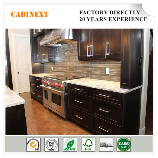 Popular Wholesale Chinese Wooden Kitchen Cabinet Mdf Solid Wood