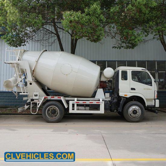 Price Concrete Mixer Cement Concrete Truck Drums Transport Vehicle
