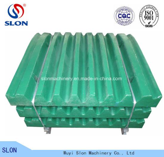 High Manganese Jaw Crusher Parts Nordberg C106 C110 C116 Tooth/Jaw Plate