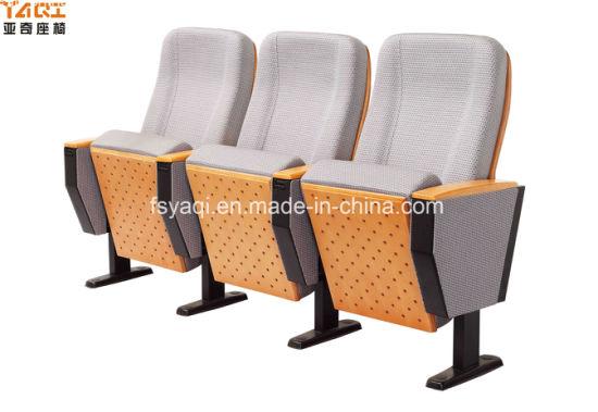 Popular Folding Wooden Cheap Price Auditorium Chair (YA-01)
