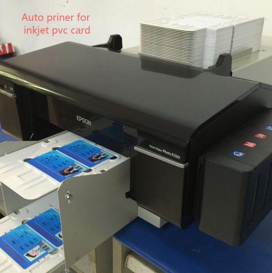 Auto Printer for CD/DVD or PVC Card Printing or PVC Card Printing