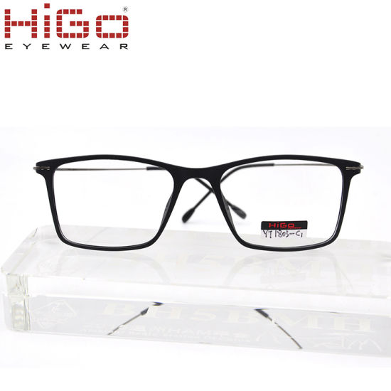 Prescription Glasses Titanium Temple Tr90 Optical Eyeglasses Frames Manufacturers