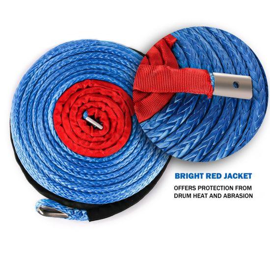 New Blue Winch Rope for ATV/UTV