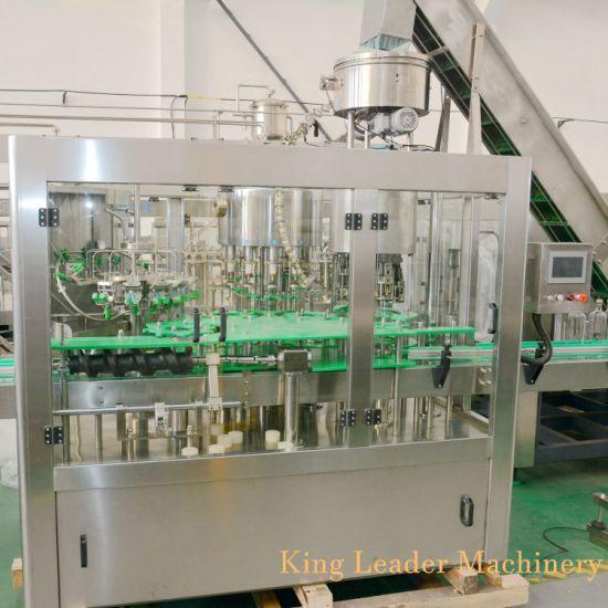 Automatic Glass Bottle Liquid Drink Beverage Bottling Equipment 3in1 Filling Machine