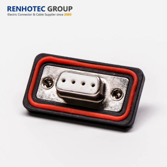 Good Quality Waterproof 4pin Female Solder D Sub Connector