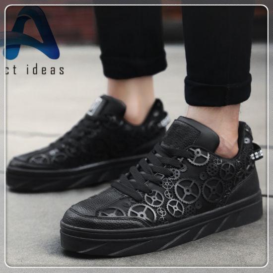 New Design Cheap Men Shoes Fashion Flat Sports Running Shoes