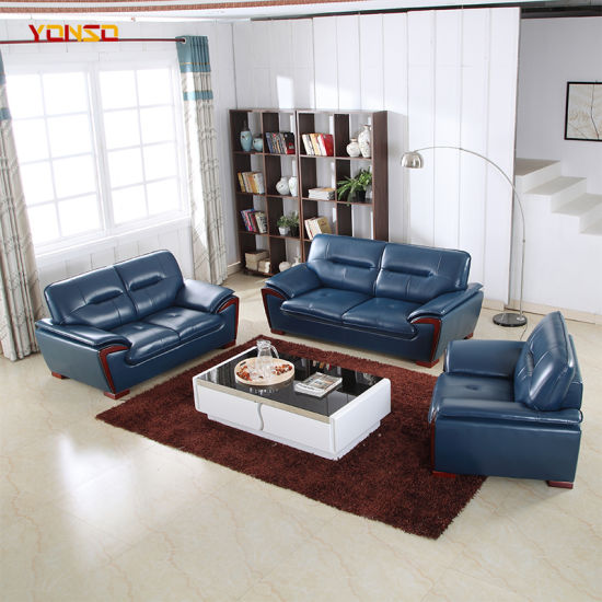 Fine China Blue Leather Sofa Furniture Set China Office Sofa Gmtry Best Dining Table And Chair Ideas Images Gmtryco
