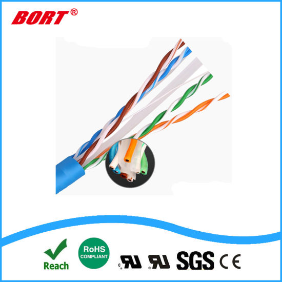 Cat6e UTP FTP SFTP High Performance LAN Cable for Network Application pictures & photos