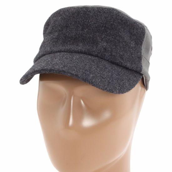7a9eadd5f BSCI Audit Wholesale Custom Winter Blank Classic Army Gray Wool Cap