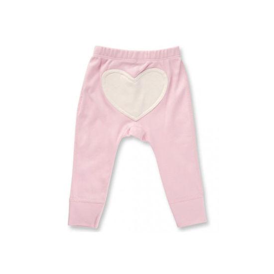 Heart Cotton Baby Wear Wholesale Kid Girl Trousers