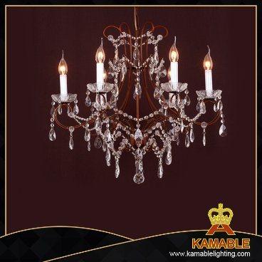 Fancy Crystal Iron Decorative Pendant Lights Chandelier (cos9237)