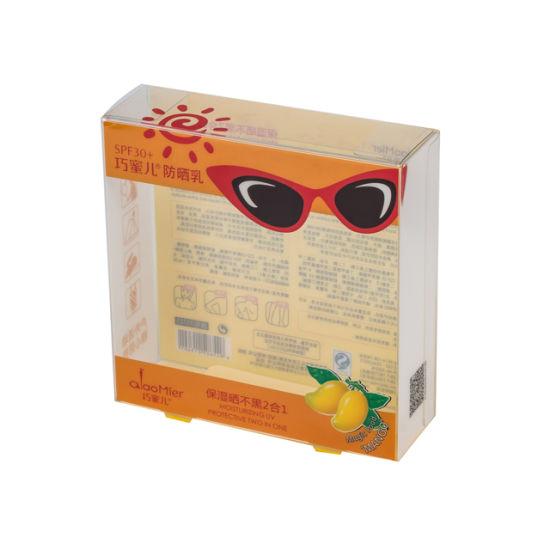 Factory Direct Sale Custom Folding Plastic Packaging Clear PVC Box