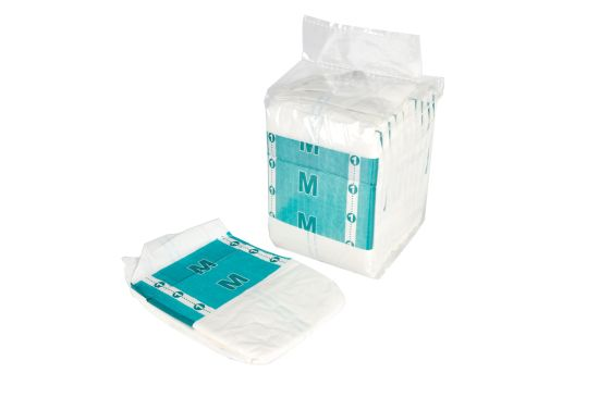 M Size Adult Diaper Stock for Old People and Nursing Home pictures & photos