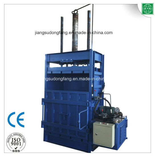 Waste Paper Straw Hydraulic Press Baler