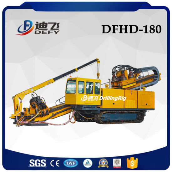 180 Ton Pulling Force Trenchless Directional Drilling Rig for Sale