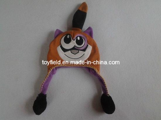 Cap Hat Knitted Fox Plush Hat Cap
