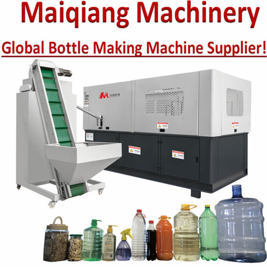 Fully Automatic Auto Plastic Filling Packing Bottle Jar Container Making Pet Preform Blowing Blow Molding Moulding Manufacture Manufacturing Machinery Machines