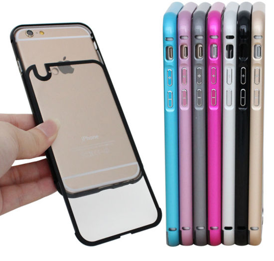 New Multi Color Metal Bumper Cell Phone Cases for iPhone pictures & photos