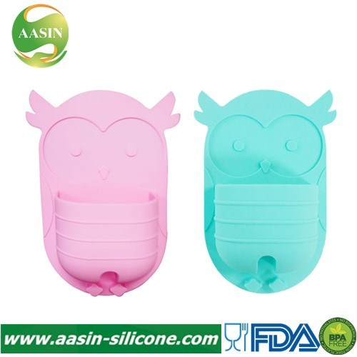 New Design Silicone Wall-Mounted Toothbrush Holder