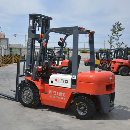 Fd30 Diesel Forklift Truck with Mitsubishi Engine, Good Quality Competitive Prices. pictures & photos