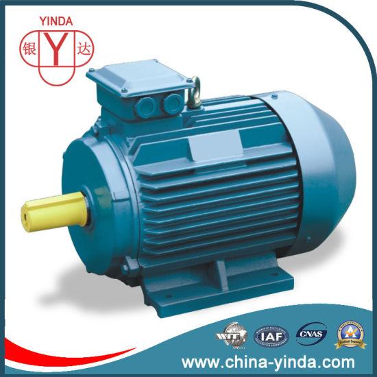 0.75 ~ 200kw Ie2 High Efficiency Tefc Three Phase Electric Motor