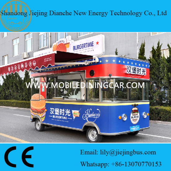 China Customized Korean Fried Chicken Food Truck Ce China Food