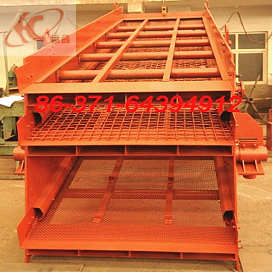 High Quality Circular Vibration Screen in Sand Making Plant pictures & photos