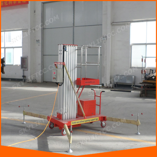 Aluminum Ladder Lift for Single Man Work with safety Test pictures & photos