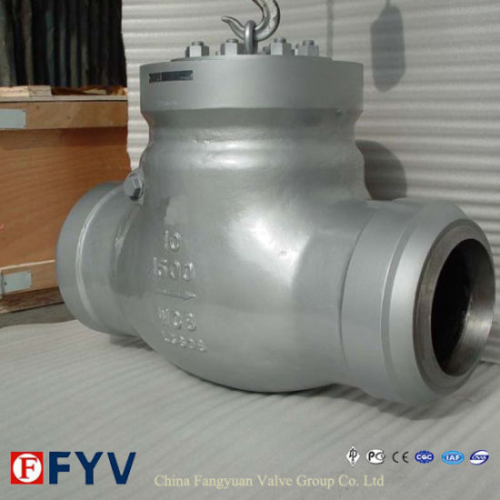 API 6D Butt Welded End Swing Check Valve pictures & photos