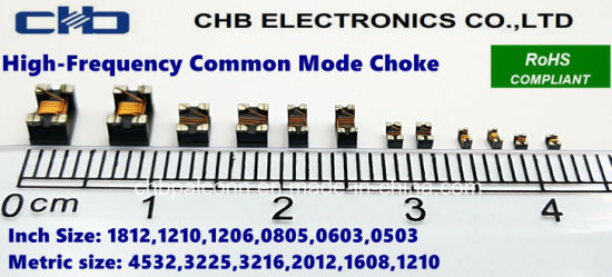 China 0805 67ohm @100MHz Common Mode Choke for USB2 0/IEEE1394